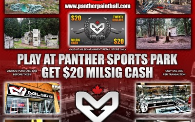 June Special Promo – Play at Panther and Get $20 MILSIG Cash